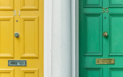Before And After: How Your Door Changes Your Entryway