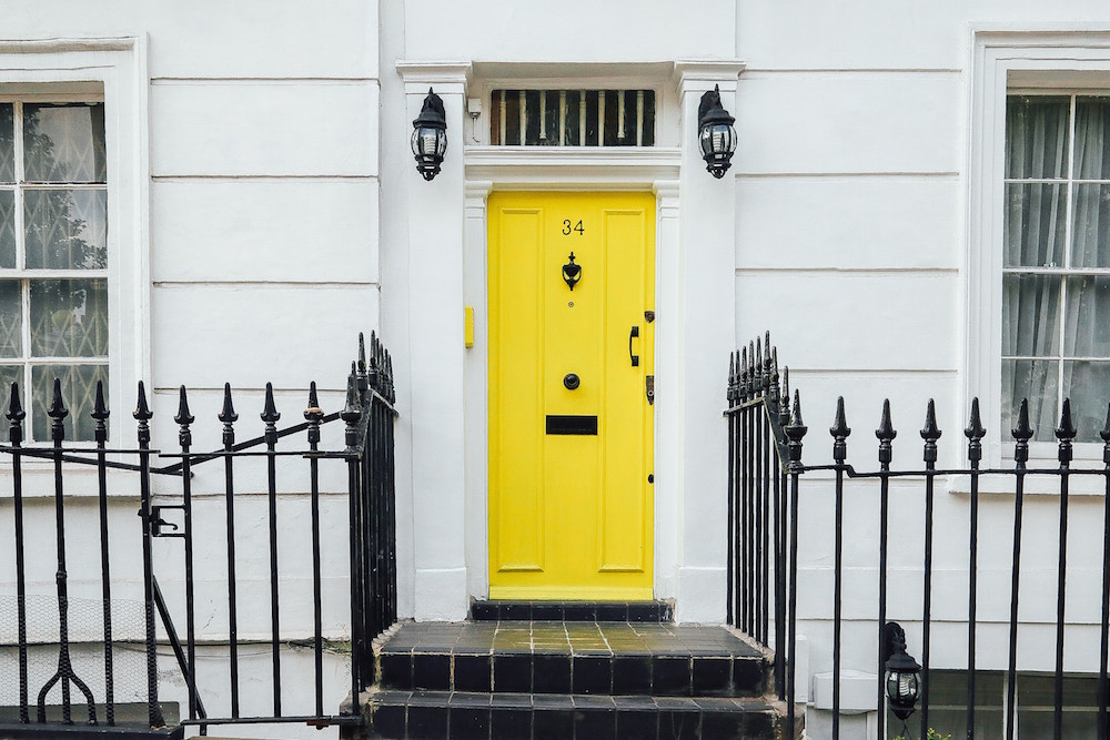 4 Doors That Will Inspire You To Go Bright!